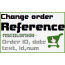 Change orders reference numbering, date, text | Prestashop module