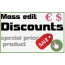 Mass editing module to discount products and create Specific prices | Prestashop module